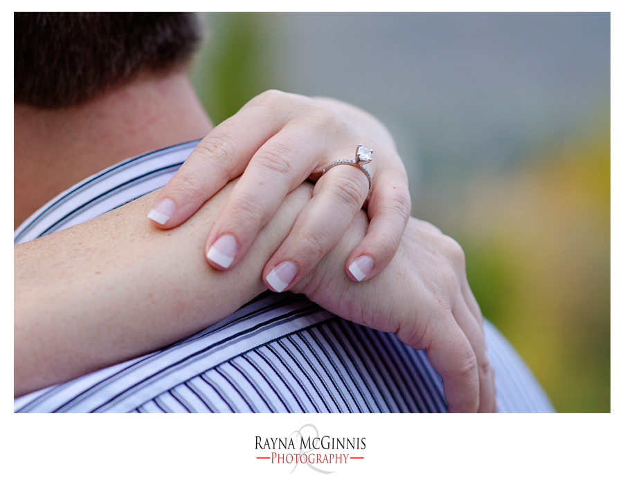 Golden Colorado Engagement Session with Ring Shot