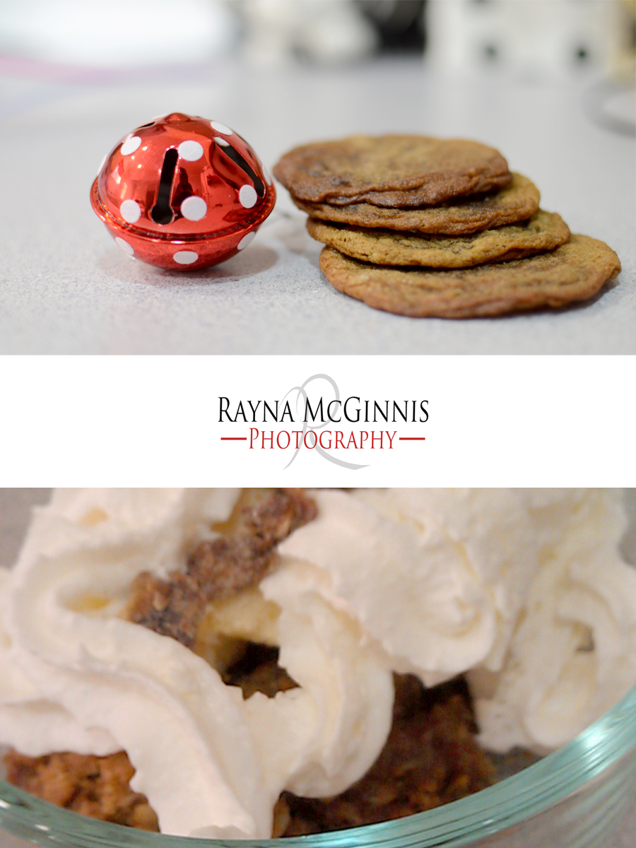 spice cookies and date bars, holiday traditions