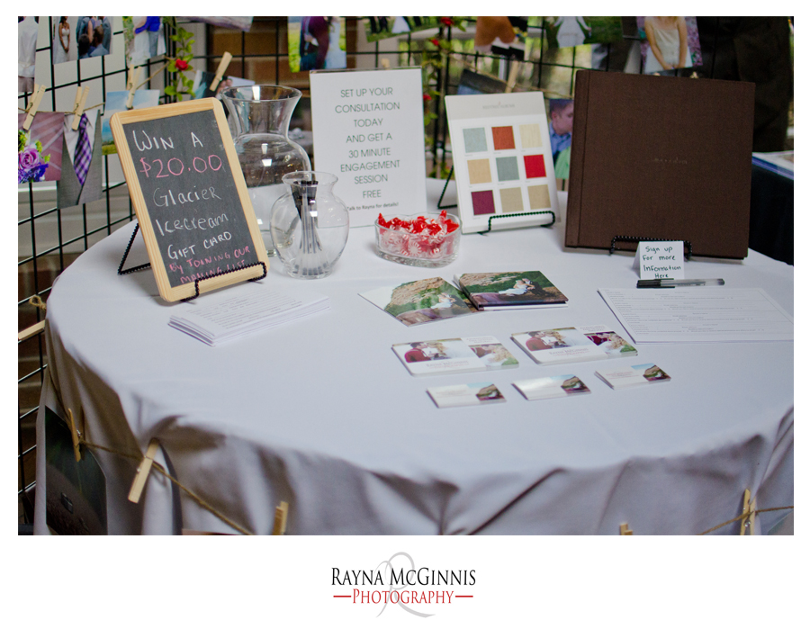 Rayna McGinnis Photography at the Lionsgate Event Center Bridal Show