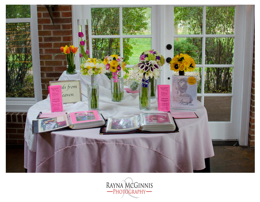 Petals from heaven at the Lionsgate Event Center Bridal Show