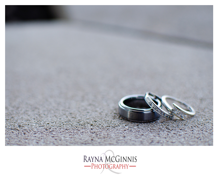 Wedding Photography at Quicksilver Golf Club - Ring Shot