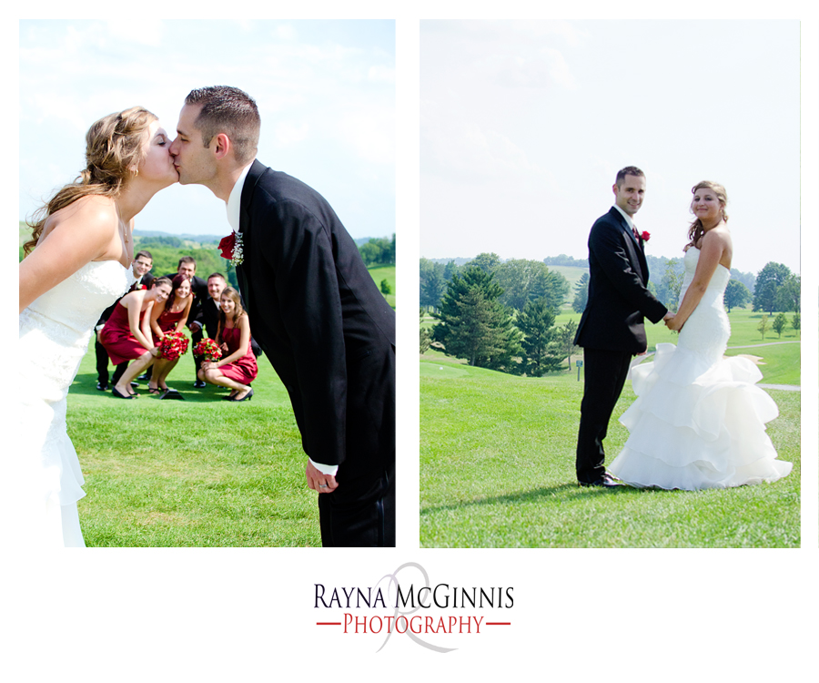 pittsburgh wedding photography at Quicksilver Golf Club