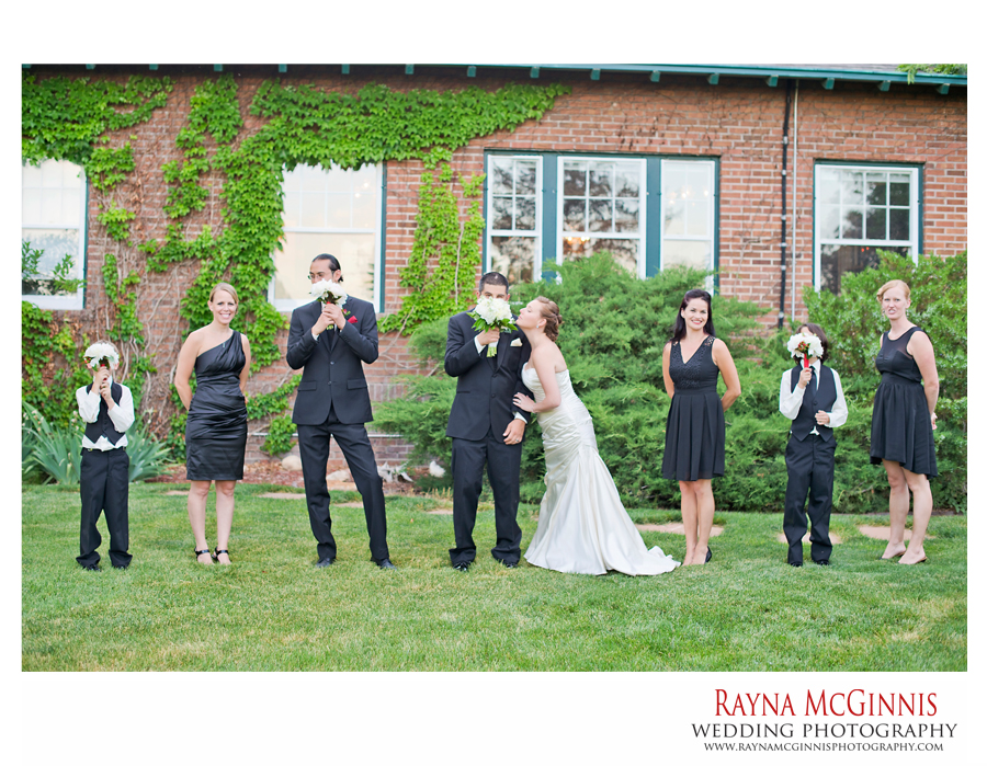 Bridal Party Portraits at the Dove House