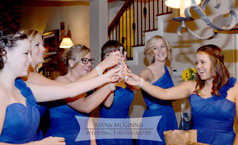 Bridal Party at Spruce Mountain Guest Ranch