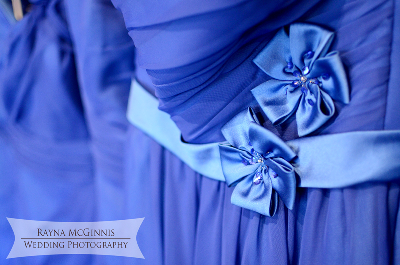 Bridesmaid details at Spruce Mountain Ranch